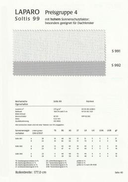 Hoher Sonnenschutzfaktor, besonders geeignet für Dachfenster